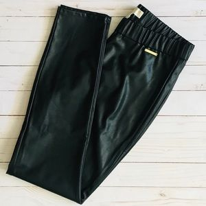 Michael Kors Faux Leather Skinny Pants